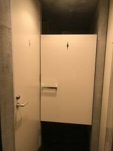 カンガルーホテルのトイレは男女別