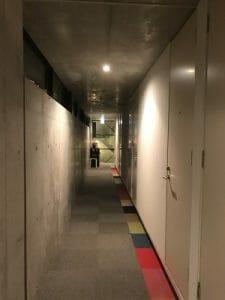 カンガルーホテルの廊下