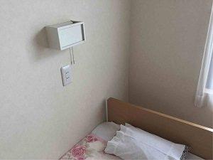 パレスジャパンの客室には読書灯
