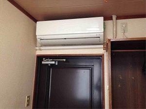 ビジネスホテル加賀の和室には個別エアコン