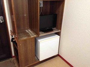 ビジネスホテル加賀の和室奥から