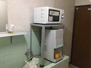 ビジネスホテル加賀舎には給湯器も
