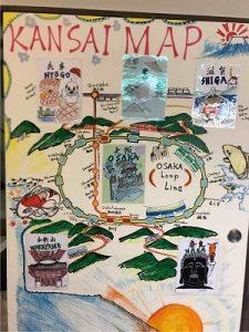 ビジネスホテル太洋には訪日観光客向けの観光マップも