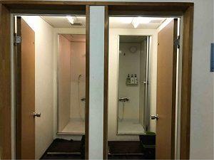 ビジネスホテル太洋のシャワールーム