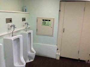 ビジネスホテル来山の共用トイレ