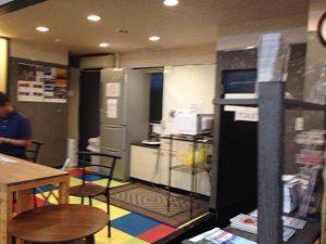 ビジネスホテル来山の談話スペース