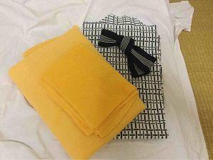 ビジネスホテル福田屋のアメニティはタオルと浴衣