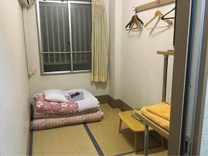ビジネスホテル福田屋の個室