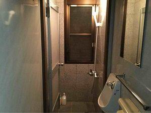 ビジネスホテル福田屋の無料シャワー室