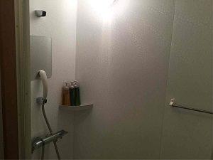 ホテル明月のシャワールーム