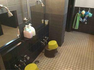 エコノミーホテルほていやの浴室内