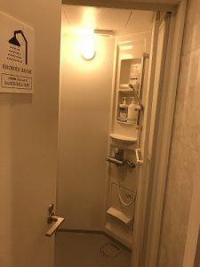 カンガルーホテルSIDE_Bのシャワールーム