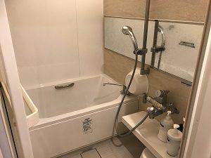 カンガルーホテルSIDE_Bのバスルーム内