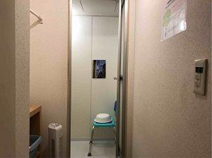 ビジネスホテルみかどのシャワールーム