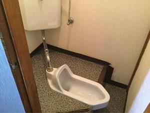 ホテル日光館のトイレは和式