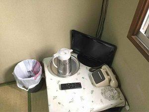 ホテル日光館の和室の設備