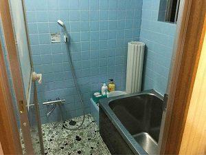 ホテル日光館の浴室内