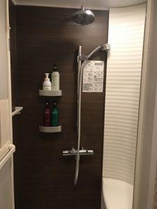 丸忠チェントロのシャワールーム