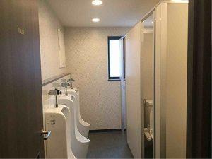 丸忠チェントロの共用トイレ