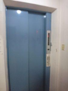 ニュー栃木屋のエレベーター