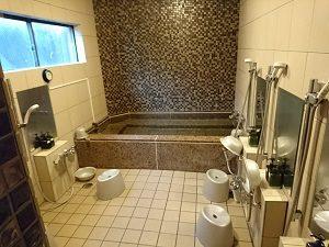 ニュー栃木屋の大浴場