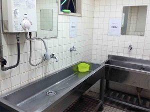 サンプラザの洗面所