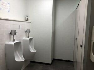 ホテルアクセラの共用トイレ内