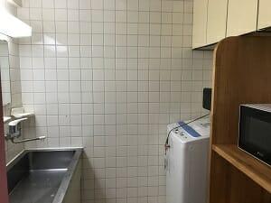 ビジネスホテルJステーションの共用洗面台