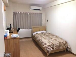 ビジネスホテルJステーションの客室