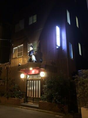 東京SA旅は夜間ライトアップされる