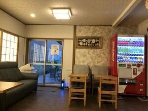 東京SA旅館の共用スペースは余裕がある