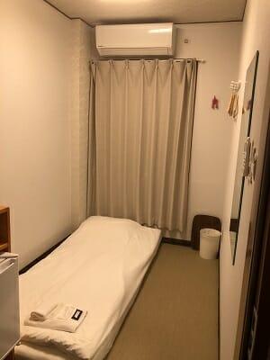 東京SA旅館の和室シングル